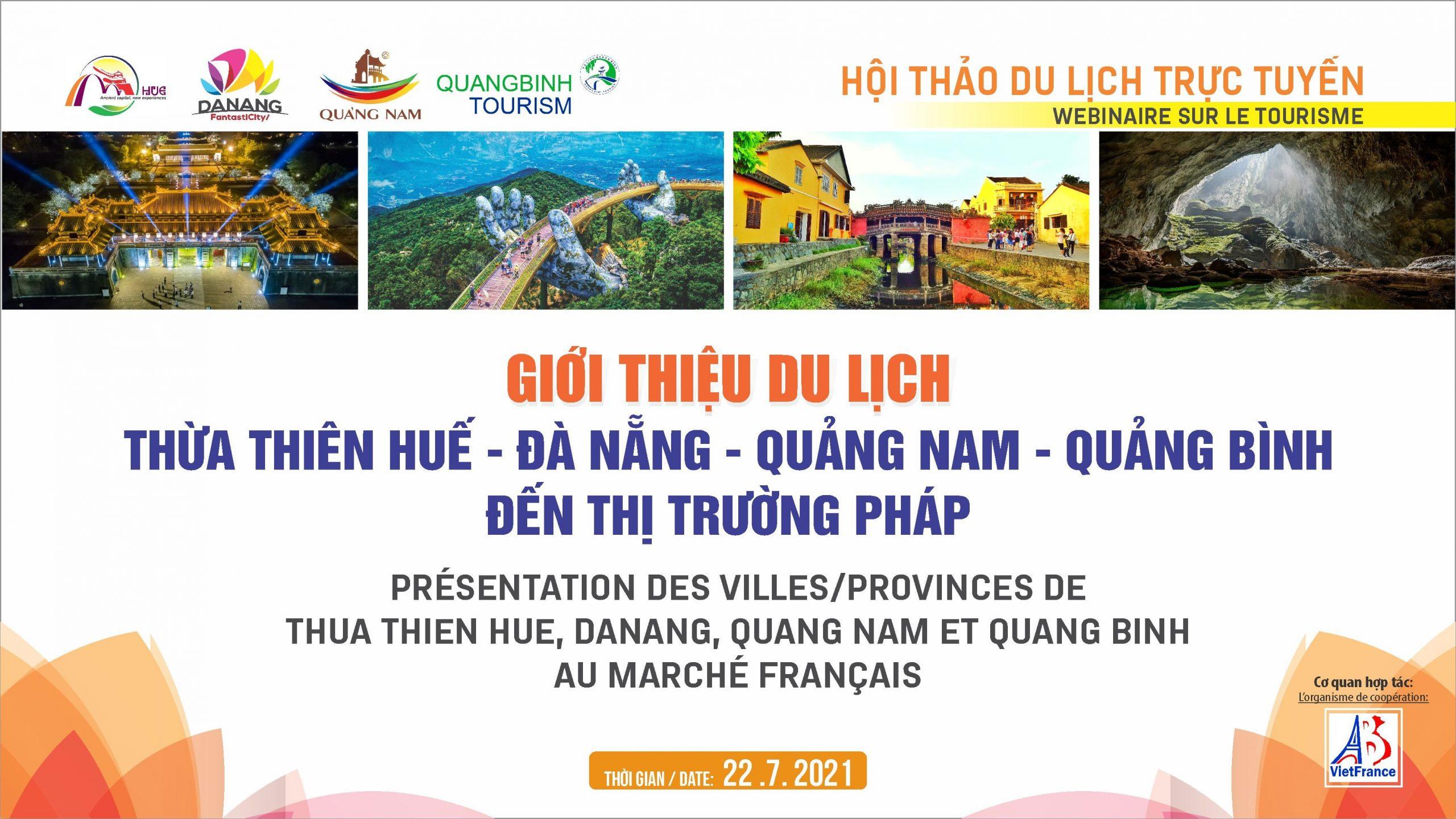"""Giới thiệu sản phẩm """"Miền Trung Việt Nam - Điểm đến an toàn và thân thiện"""" tới thị trường Pháp"""