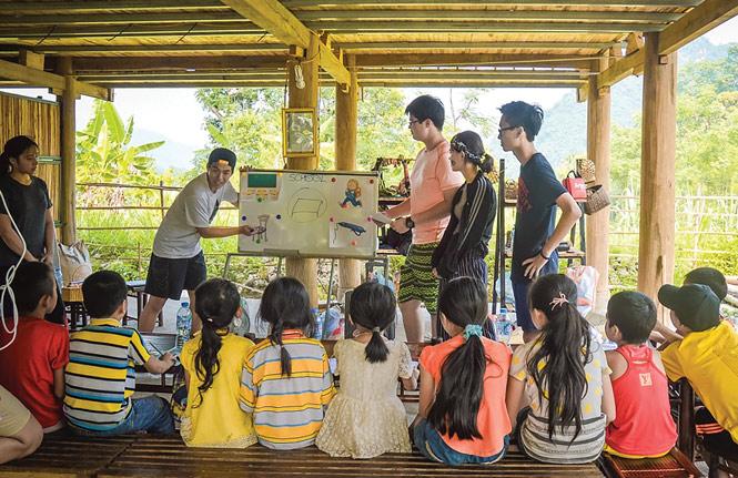 Du lịch tình nguyện - đưa giới trẻ đến với cộng đồng