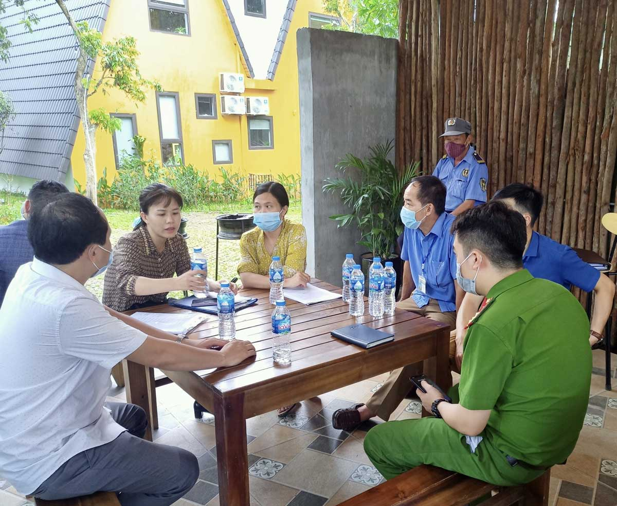 Thành phố Hòa Bình: Kiểm tra công tác phòng, chống dịch Covid-19 tại các cơ sở lưu trú du lịch