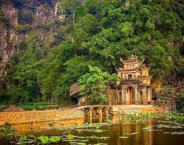 Tôn tạo di tích chùa Bích Động, tỉnh Ninh Bình