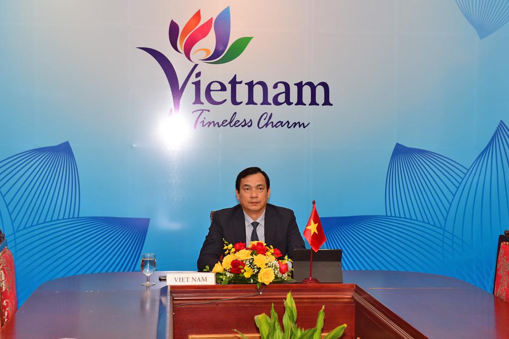 Tổng cục trưởng Nguyễn Trùng Khánh: Cơ hội hợp tác du lịch Việt Nam - Ấn Độ rất lớn, cần hợp sức vượt qua đại dịch và phục hồi trở lại