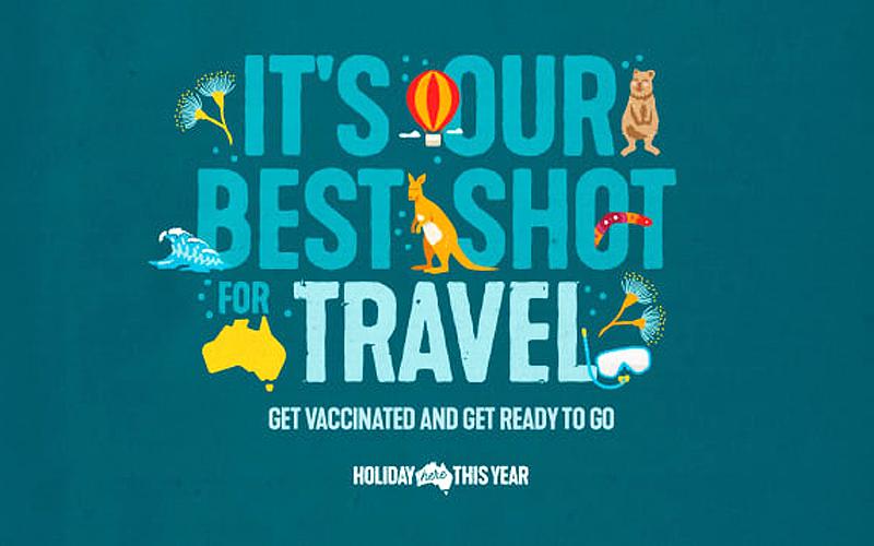 Kêu gọi tiêm chủng là cách Australia quảng bá du lịch