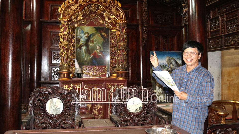 Người lưu giữ nghệ thuật kiến trúc nhà gỗ truyền thống