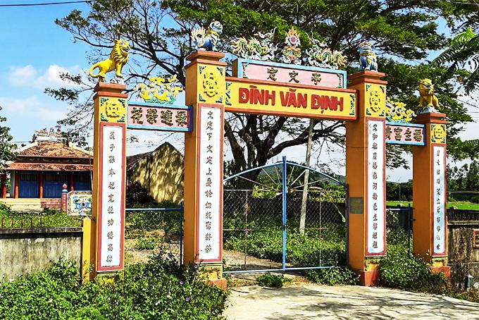 Khánh Hòa: Phát huy giá trị đình làng ở xứ Trầm