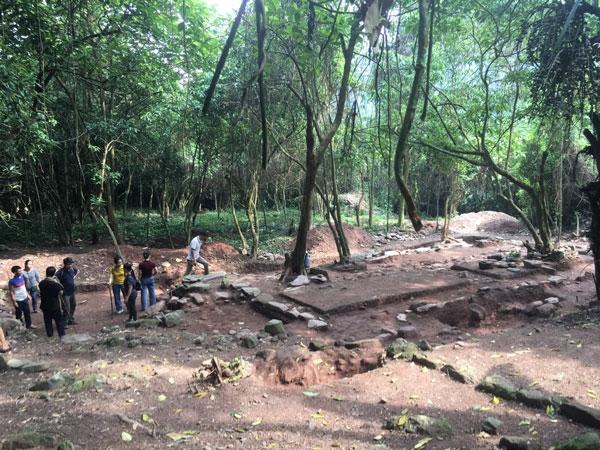 Phát hiện nhiều di vật khảo cổ tại di tích chùa Bình Long ở Bắc Giang
