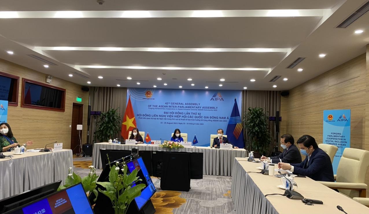 Phiên họp Ủy ban kinh tế trong khuôn khổ AIPA-42 nhấn mạnh hợp tác phục hồi du lịch ASEAN