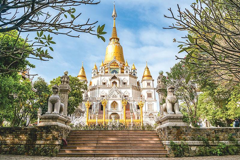 TP. Hồ Chí Minh: Chùa Bửu Long - dấu ấn của sự giao thoa Phật giáo