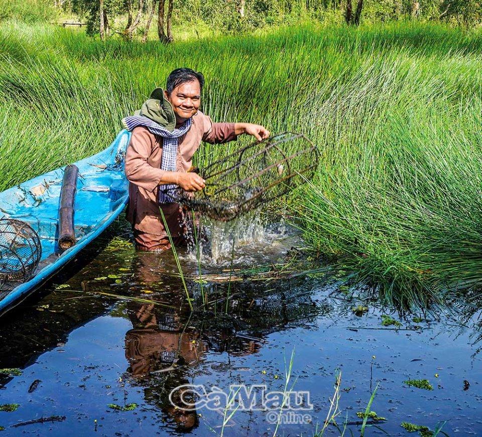 Đặt lọp rừng U Minh