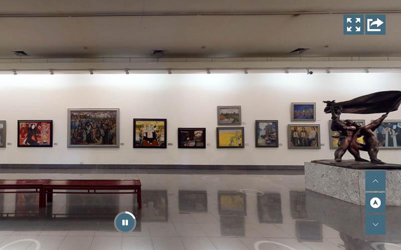 Bảo tàng Mỹ thuật Việt Nam ra mắt 3D Tour tham quan trực tuyến