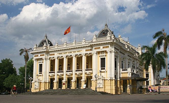 Nhà hát Lớn - dấu ấn kiến trúc đô thị giữa lòng Hà Nội