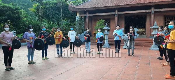 Hòa Bình: Huyện Lạc Thủy tập huấn cồng chiêng cho thanh, thiếu niên