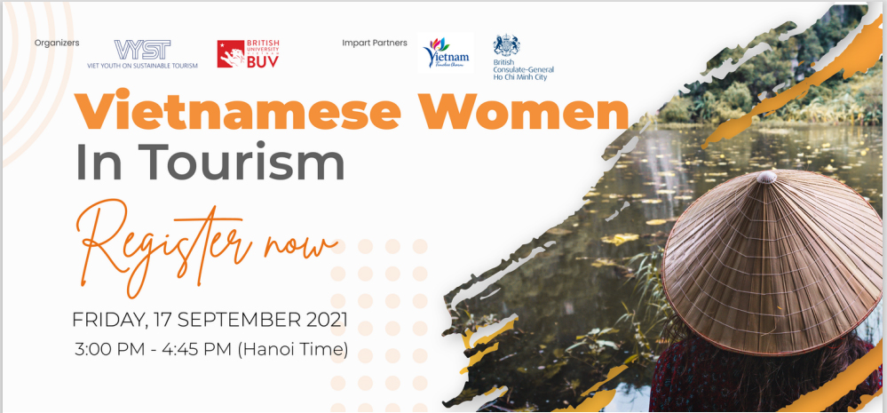 """Mời tham dự sự kiện """"Phụ nữ Việt Nam trong ngành Du lịch"""""""
