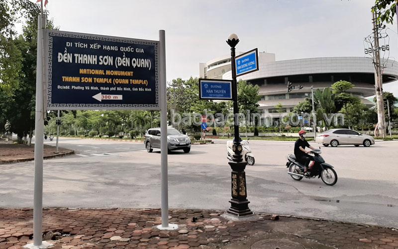 Thành phố Bắc Ninh: 55 di tích lịch sử văn hóa được cắm biển chỉ dẫn