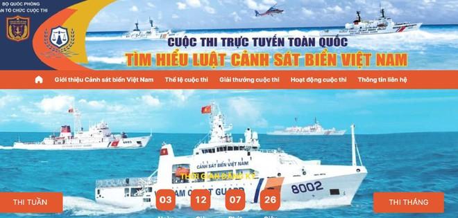 Bộ VHTTDL phát động công chức, viên chức, người lao động trong ngành tham gia cuộc thi tìm hiểu Luật Cảnh sát biển Việt Nam