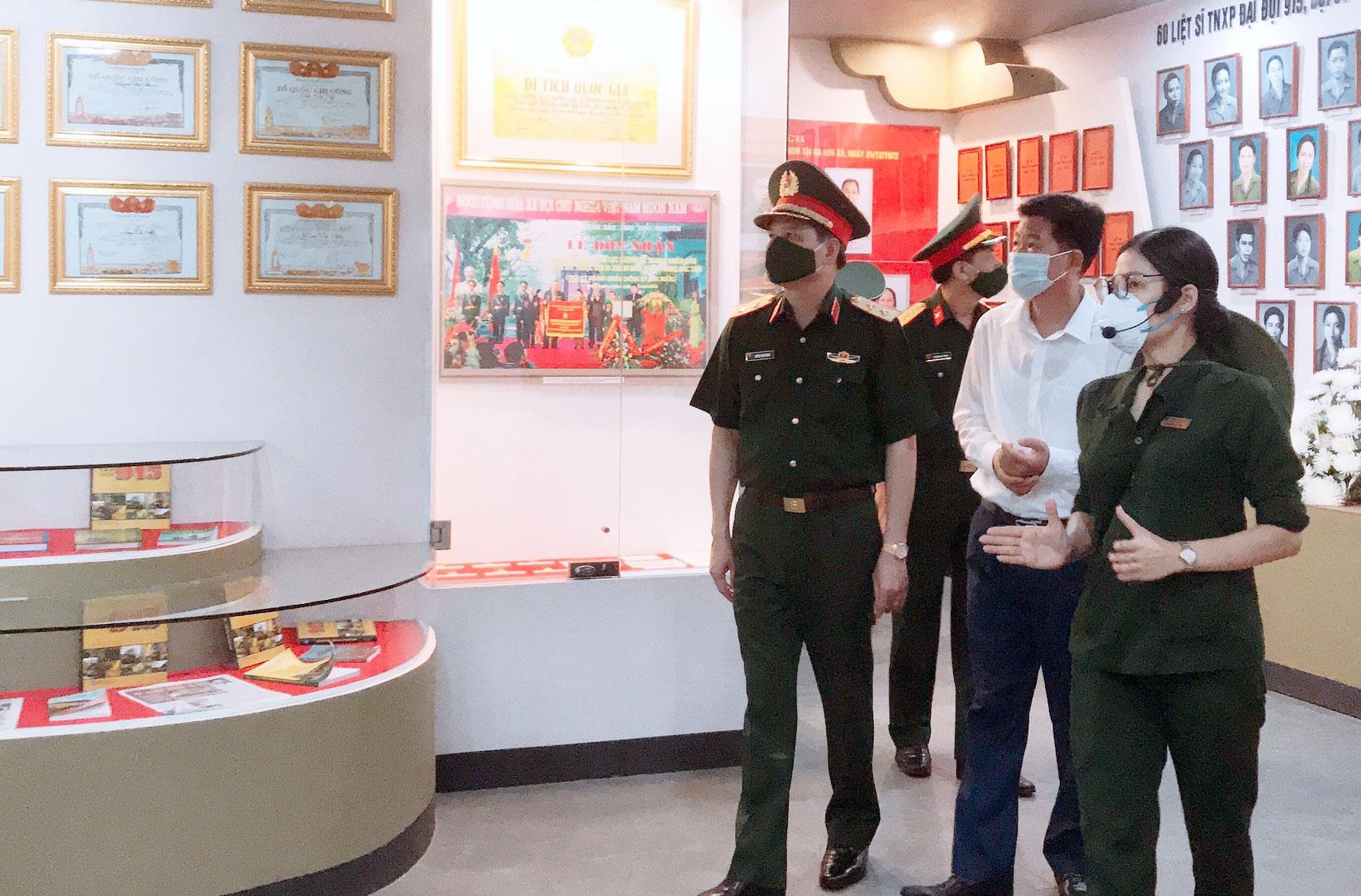 Khu Di tích lịch sử Quốc gia 60 liệt sĩ thanh niên xung phong Đại đội 915 (Thái Nguyên): Đón tiếp hơn 35.000 lượt du khách