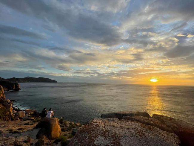Bình Định: Gành Bắc Nhơn Hải trong vẻ đẹp nguyên sơ