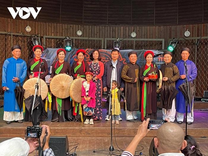 Ấn tượng Việt Nam tại Lễ hội hành tinh màu 2021 ở Cộng hòa Séc