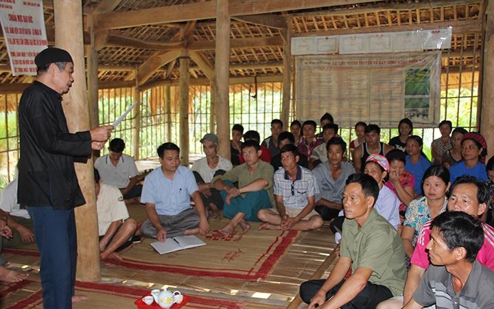 Lào Cai: Miệt mài giữ gìn bản sắc văn hoá dân tộc Tày