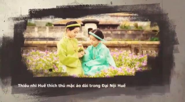 """Triển lãm online """"Huế - Kinh đô Áo dài Việt Nam"""""""