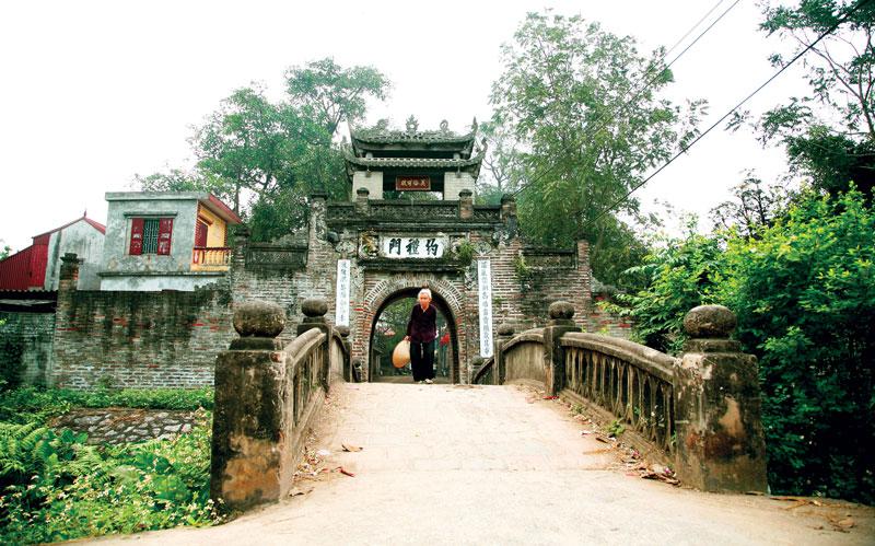Hà Nội: Yên bình làng cổ Ước Lễ