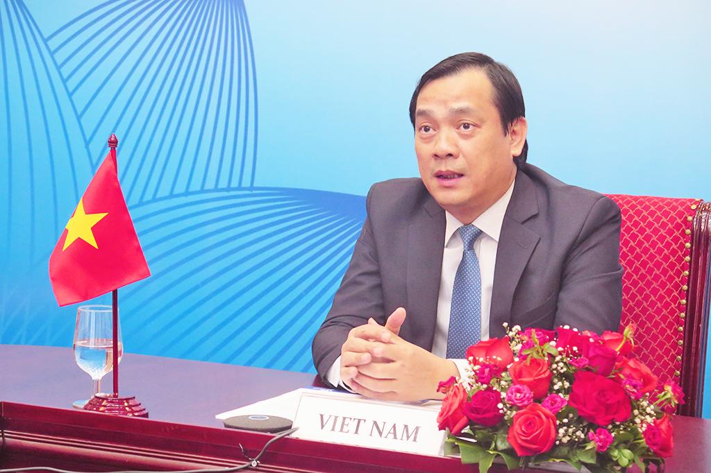 Tổng cục trưởng Nguyễn Trùng Khánh dự Chương trình nghị sự đặc biệt về Myanmar thuộc Phiên họp Hội đồng MTCO