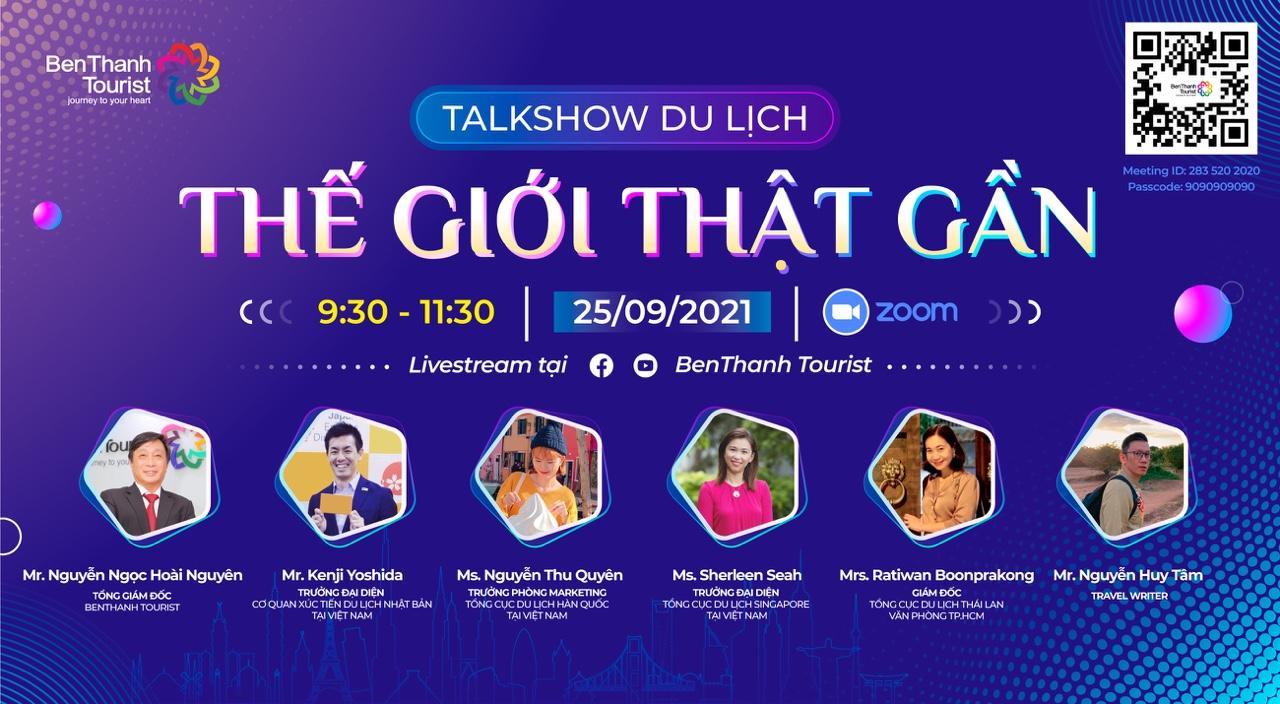 BenThanh Tourist tổ chức talk show kết nối du lịch
