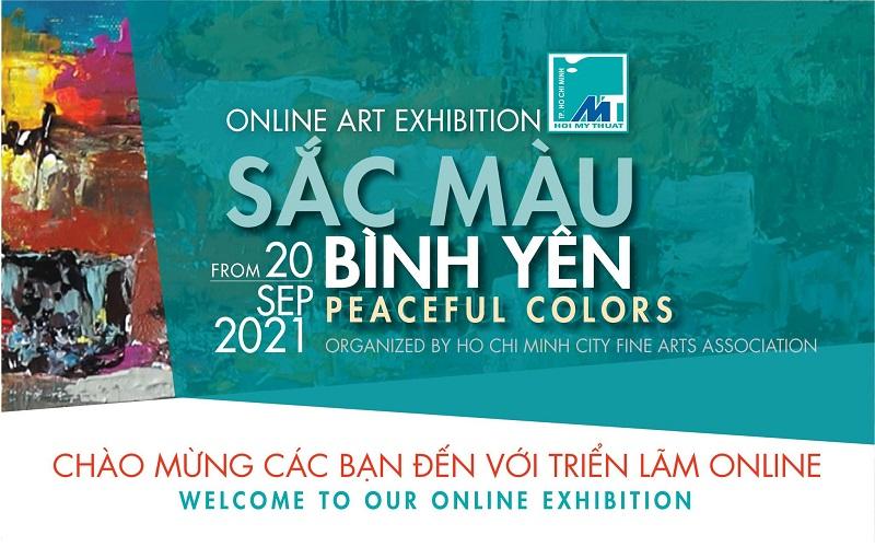 Triển lãm mỹ thuật online chủ đề ''Sắc màu bình yên''