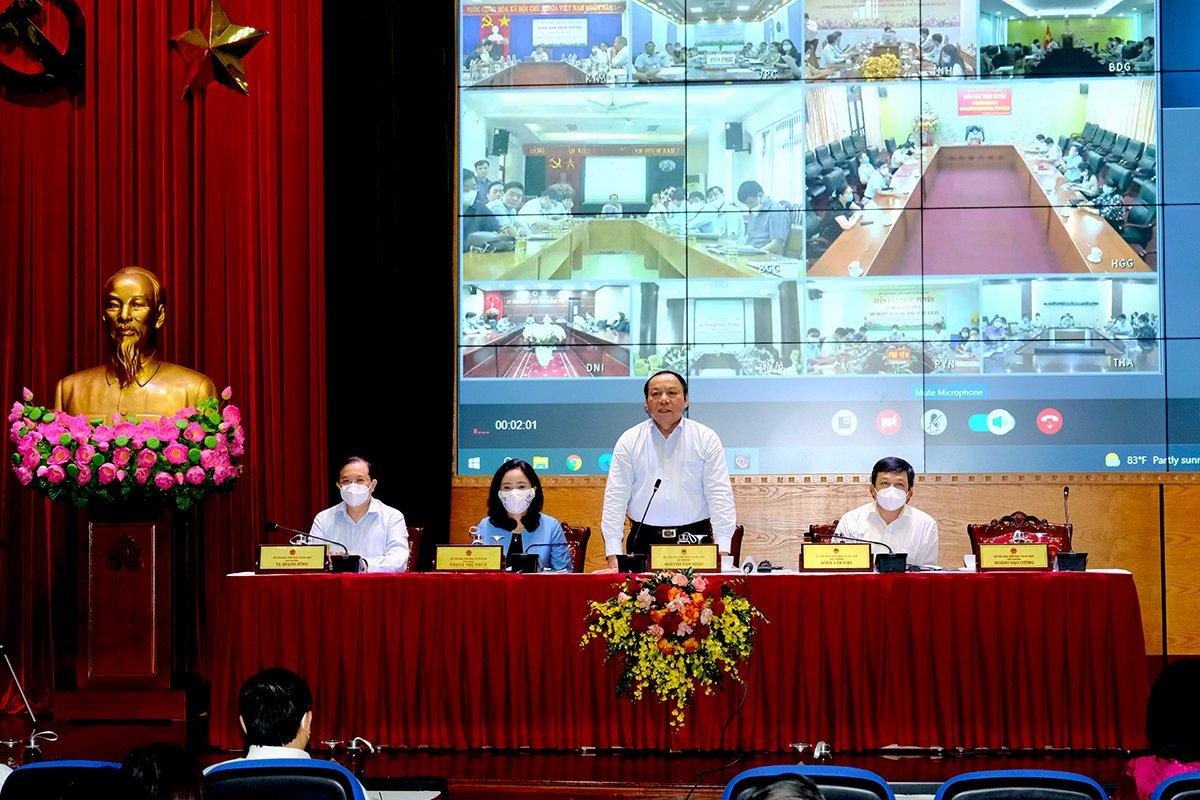 Bộ trưởng Nguyễn Văn Hùng: Toàn ngành VHTTDL tập trung vào khâu đột phá xây dựng thể chế và thúc đẩy chuyển đổi số