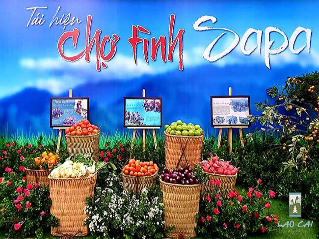 Chợ tình Sa Pa (Lào Cai) sẽ tiếp tục tái hiện vào cuối năm 2021