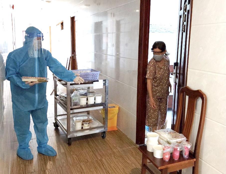 Bà Rịa - Vũng Tàu: Các khách sạn cách ly tập trung tuân thủ chặt chẽ quy trình phòng dịch
