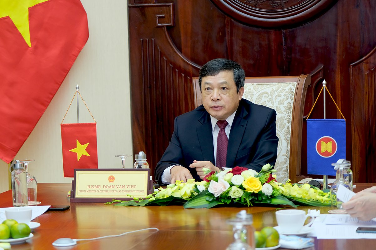 Thứ trưởng Đoàn Văn Việt tham dự Diễn đàn Du lịch Toàn cầu 2021