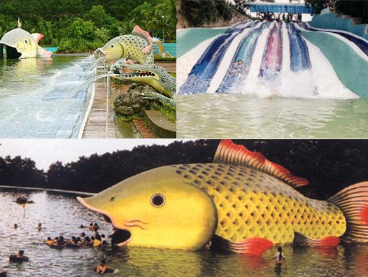 Mùa hè ở khu du lịch Khoang Xanh- Suối Tiên (Hà Tây)