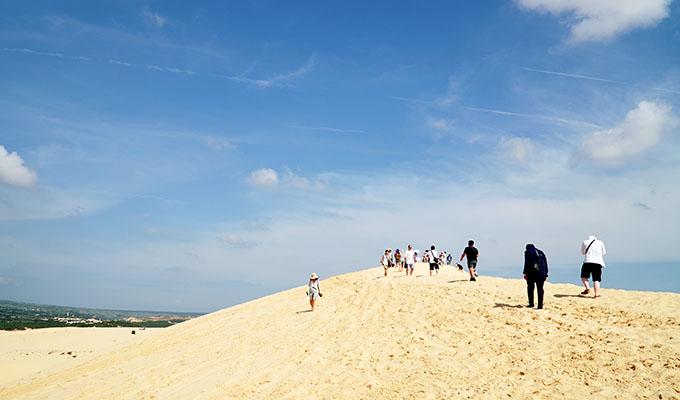 Đồi cát Bàu Trắng - Bình Thuận