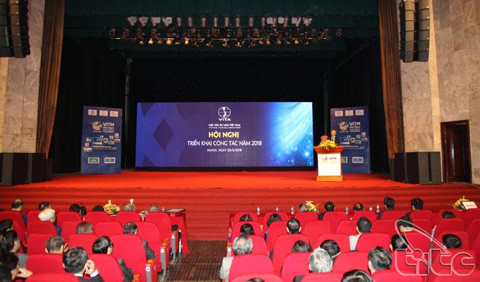 Hội nghị triển khai công tác năm 2018 của Hiệp hội du lịch Việt Nam