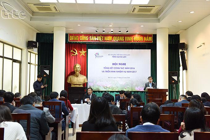 Hội nghị tổng kết công tác ngành Du lịch năm 2016