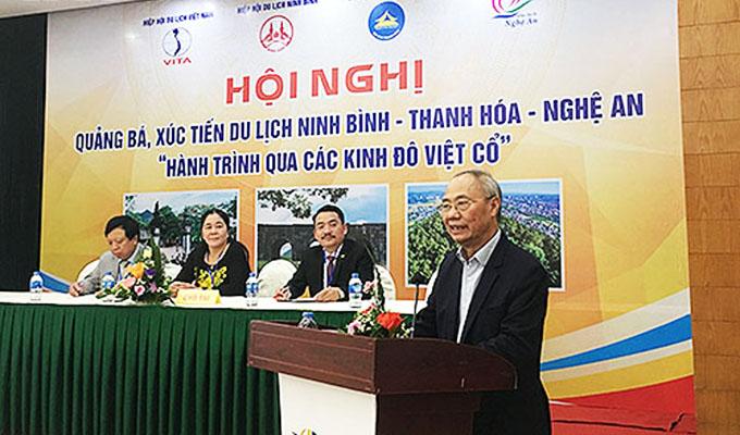 Hội nghị quảng bá xúc tiến du lịch ba tỉnh Ninh Bình - Thanh Hoá - Nghệ An