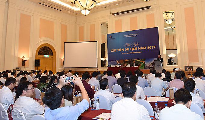 Hội nghị xúc tiến Du lịch 2017: Nhiều giải pháp nhằm thúc đẩy tăng trưởng khách quốc tế