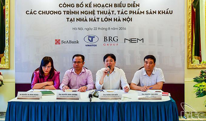 Sẽ công diễn nhiều chương trình nghệ thuật đặc sắc tại Nhà hát Lớn Hà Nội