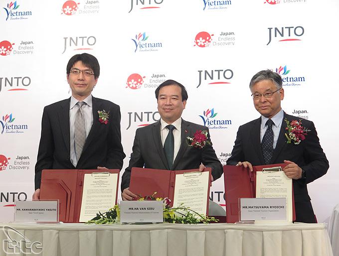 Việt Nam và Nhật Bản ký kết hợp tác phát triển du lịch