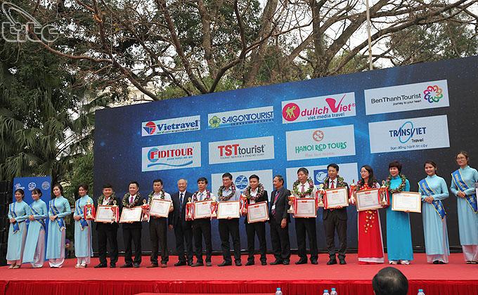 Vinh danh 10 doanh nghiệp lữ hành outbound hàng đầu Việt Nam 2017