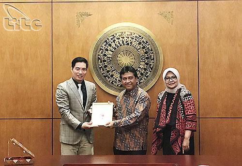 Tổng cục Du lịch tiếp Ủy ban Quốc gia về kinh tế và công nghiệp Indonesia