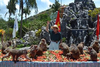 Vẻ đẹp Nha Phu, Đảo Khỉ