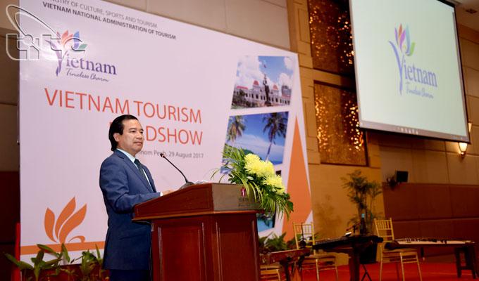 Tổng cục Du lịch đẩy mạnh hoạt động xúc tiến du lịch tại thị trường Campuchia