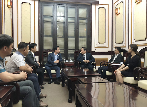 Tổng cục Du lịch tiếp ông Lý Xương Căn và đoàn đại biểu du lịch tỉnh Gongju, Hàn Quốc