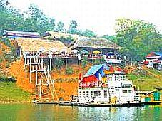 Du lịch xanh vùng lòng hồ Thác Bà: Hấp dẫn không chỉ với du khách nước ngoài