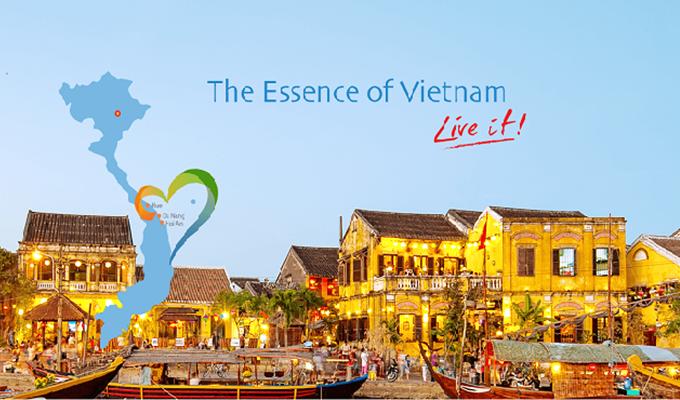 Công bố Bộ nhận diện thương hiệu du lịch 3 địa phương miền Trung