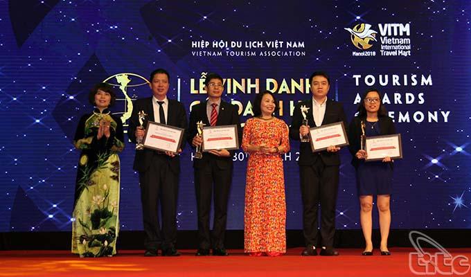 Lễ tôn vinh các danh hiệu du lịch 2017