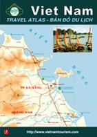 Sách Viet Nam Travel Atlas tái bản lần thứ 6 - tháng 5/2009