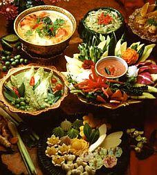 Nét thú vị của ẩm thực Thái Lan