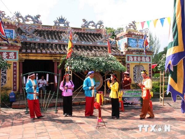 Xây dựng hồ sơ trình UNESCO công nhận Bài Chòi là di sản văn hóa